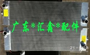 日立200-3挖掘机液压油散热器