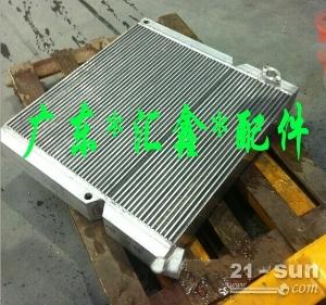 日立EX120挖掘机液压油散热器