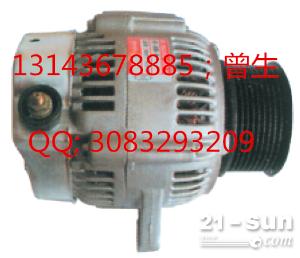 小松挖掘机配件PC200-6 6D102发电机