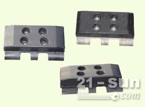 凯莫尔TOP1201沥青摊铺机螺旋叶片、叶轮、履带板、支重轮厂家直销