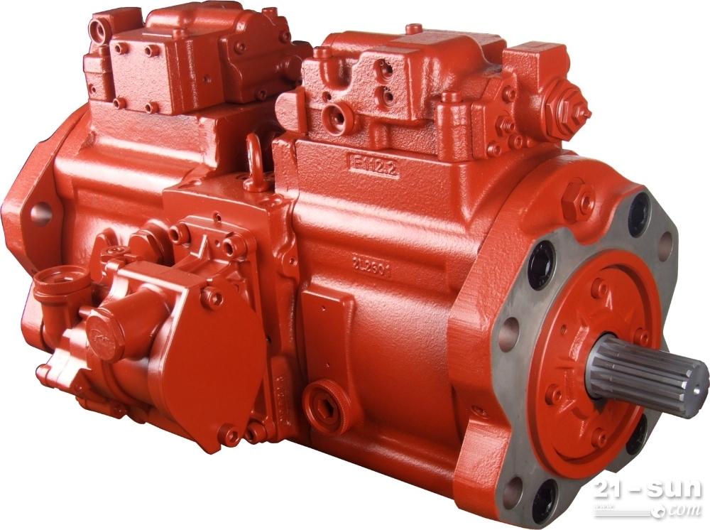 韩国川崎k3v112液压泵总成,适合住友,斗山258,sk200-6e等图片
