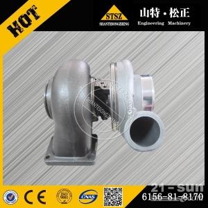 小松挖掘机配件发动机件PC400-7增压器6156-81-8170