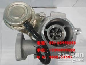神钢挖掘机SK260-8超8-6E涡轮增压器