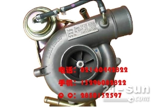 五十铃6WF1涡轮增压器