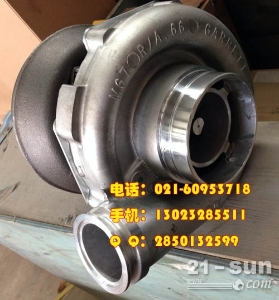 沃尔沃发动机D6D涡轮增压器
