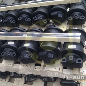 EX200,ZX200,ZX200-3挖掘机支重轮20T挖机全套底盘上海现货