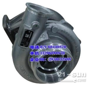 volvo发动机D7E增压器