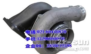 volvo发动机D12D增压器