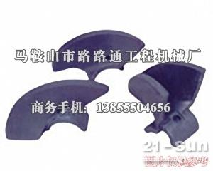 美国PF沥青摊铺机螺旋叶片、履带板、支重轮
