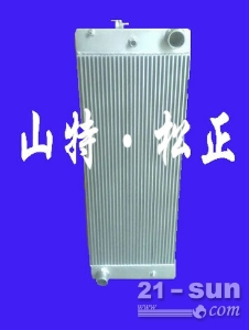 小松PC400-7水箱  纯正原厂挖机配件