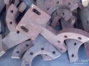 泰安岳首MWB500稳定土厂拌机搅拌臂