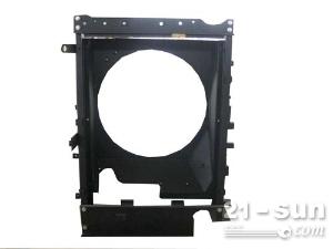 济宁大和机械专业生产销售挖掘机零部件 发动机护罩 散热器框架15725943179