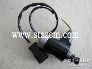 小松挖机 全车件 原装配件 性价比高 15810710387 PC60-7旋转电磁阀