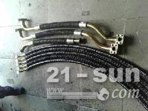 小松挖掘机高压油管,小松挖掘机发动机上水管