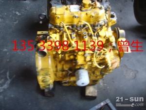 小松挖掘机配件PC30-7 3D84-3发动机总成