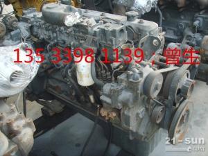 小松挖掘机配件PC350-6 6D108发动机总成