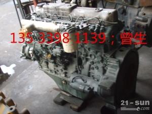 神钢挖掘机配件SK200-6 6D34发动机总成