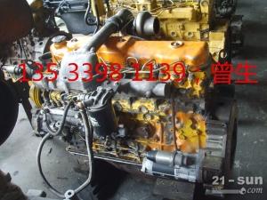 加藤挖掘机配件HD700-5 6D31旧款发动机总成