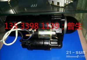 600-813-2950小松推土机配件D455-1启动马达