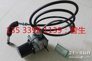 现代挖掘机配件R220-7线加油马达