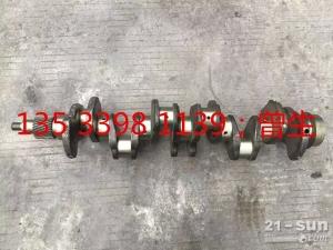 神钢挖掘机配件SK200-5/6 6D34曲轴