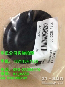 阿特拉斯D7钻机蓄能器氮气包(低压)膜片3115182200
