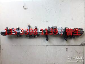 神钢挖掘机配件SK200-8 J05E气门摇臂和轴