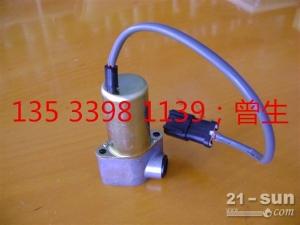小松挖掘机配件PC200-6液压泵电磁阀