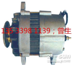 神钢挖掘机配件SK120-3/5 4BD1发电机