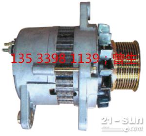 小松挖掘机配件PC200-6 6D95发电机