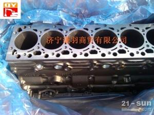 小松配件发动机缸体:小松PC200-8缸体