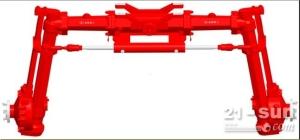 JC3W51型前驱动桥