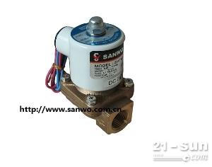 SANWO三和电磁阀 2通阀 先导电磁阀 铜电磁阀 折页机电磁阀 真空电磁阀