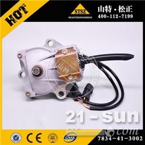 小松挖掘机配件现货供应小松PC360-7原厂,副厂油门马达7834-41-3002