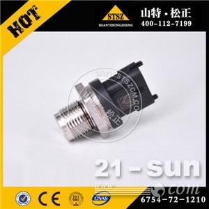 小松原装纯正件,PC210-8共轨压力传感器 6754-72-1210