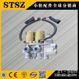 青海小松供应PC56-7电磁阀组电磁阀22F-60-2120...
