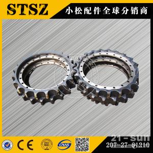 库存500件小松PC450-7原厂驱动齿链轮208-27-61210 小松挖掘机配件