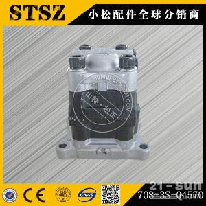 想买小松PC56-7挖掘机原厂齿轮泵找山特松正708-3S-04571
