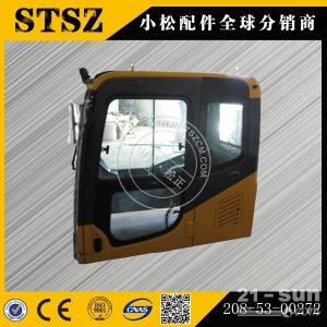 小松挖掘机配件 PC300-7原厂全车驾驶室总成208-53...