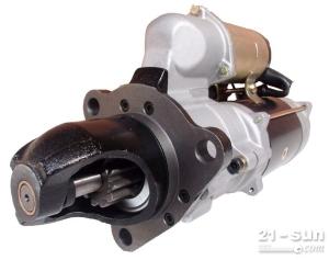 小松600-813-6510起动机