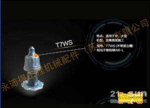 永沛得厂家供应T7WS刀头