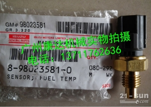 供应五十铃6HK1/4HK1(燃油温度)传感器8-98023...