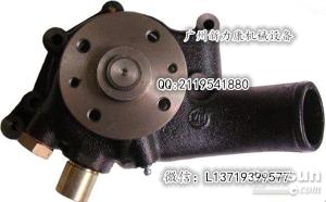 神钢SK60五十铃4JB1发动机水泵8-9410341-0