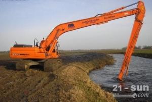 日立350挖机大小加长臂、20米加长臂订做、挖掘机加长臂厂家