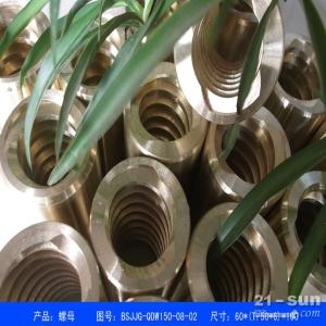 供应人防工程配件铜蜗轮螺母