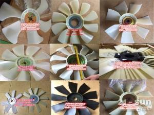日立EX120发动机4BD1风扇叶(4孔6叶)1-13660029-0