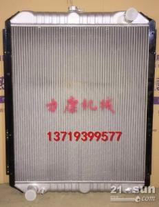 日立ZX250LC-3挖掘机五十铃4HK1X水箱散热器 水泵