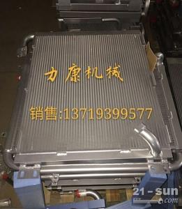 日立ZX140W-3挖掘机五十铃4JJ1X水箱散热器 水泵