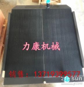 日立ZX240-3G挖掘机五十铃6BG1T水箱散热器 水泵