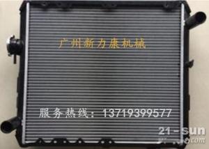 日立ZX330-3(进口)挖掘机五十铃6HK1X水箱散热器 水泵